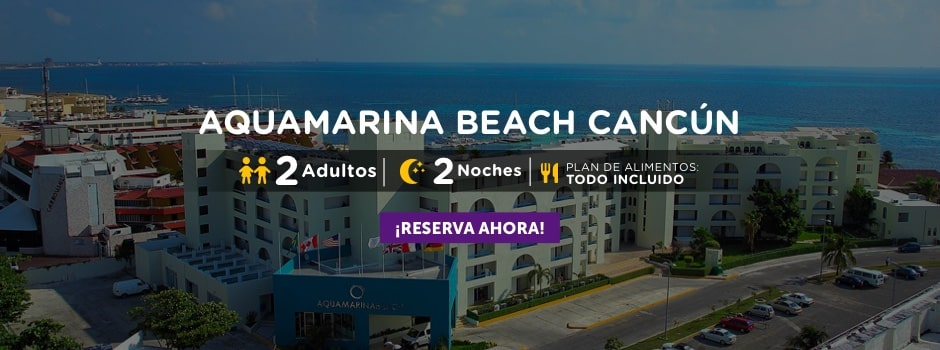 Aquamarina Beach Cancún Oferta