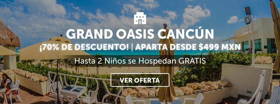 Grand Oasis Cancún Oferta