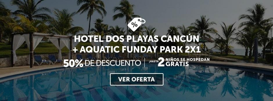 Hotel Dos Playas Beach House + Aquatic Funday Park Plus