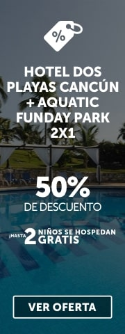 Oferta Dos Playas Beach House + Aquatic Funday Park Plus