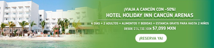 Hotel Holiday Inn Cancún Arenas MD
