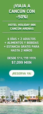 Hotel Holiday Inn Cancún Arenas Promoción MD