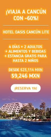 Oferta en Hotel Oasis Cancún Lite MD