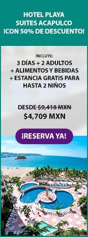 Hotel Playa Suites Acapulco Promoción