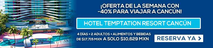 Hotel Temptation Resort Cancún MD