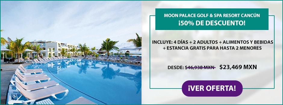 Oferta Moon Palace Golf & Spa Resort Cancún