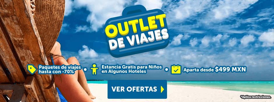 Outlet de Viajes Tarifa Especial