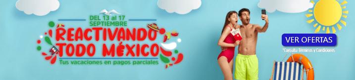Ofertas para viajar por todo México