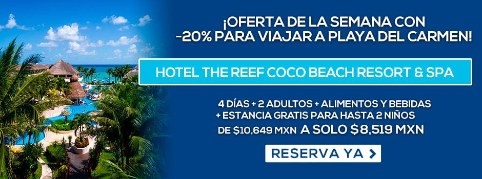 Hotel The Reef Coco Beach Resort & Spa Oferta MD