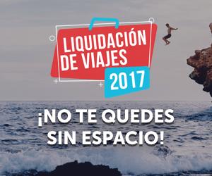 Liquidación de Viajes 2017 Promociones