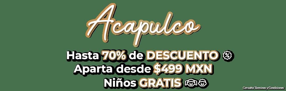 Ofertas de Viajes Acapulco