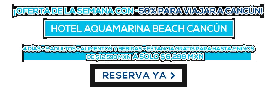 Hotel Aquamarina Beach Cancún MD