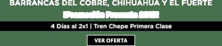 Barrancas del Cobre, Chihuahua y el Fuerte Oferta MD