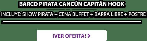 Barco Pirata Capitán Hook Cancún LD