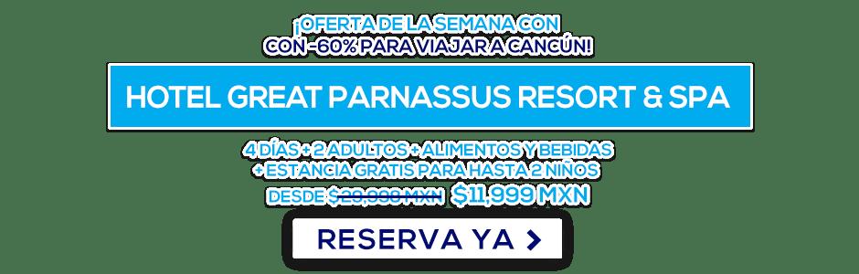 Hotel Great Parnassus Resort & Spa Oferta MD