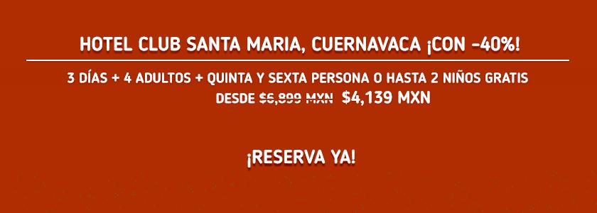 Hotel Club Santa Maria Oferta MD