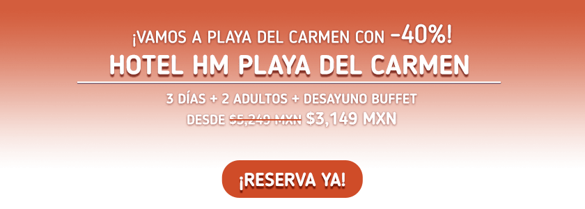 Hotel HM Playa del Carmen Oferta MD