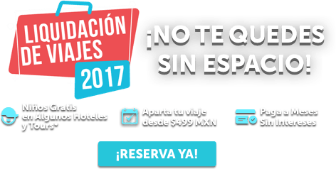 Liquidación de Viajes 2017 Ofertas MD
