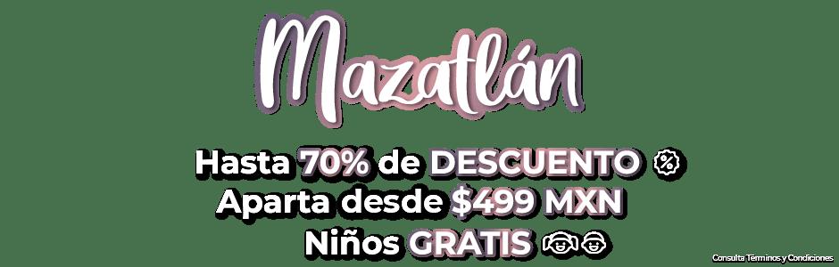 Ofertas de Viajes Mazatlán