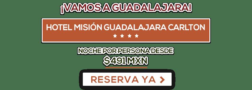 Hotel Misión Guadalajara Carlton Oferta MD