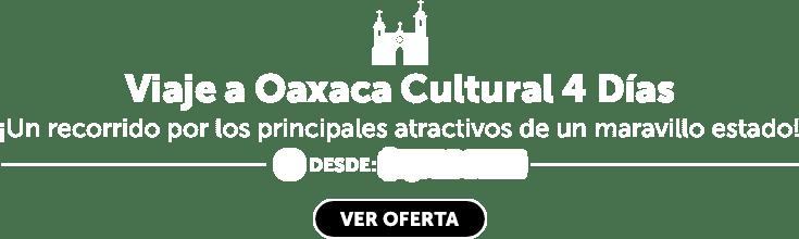 Oferta Oaxaca Circuito 4 Días LD