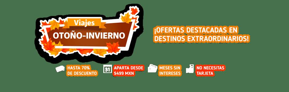 Promociones de Viajes Otoño-Invierno OFE