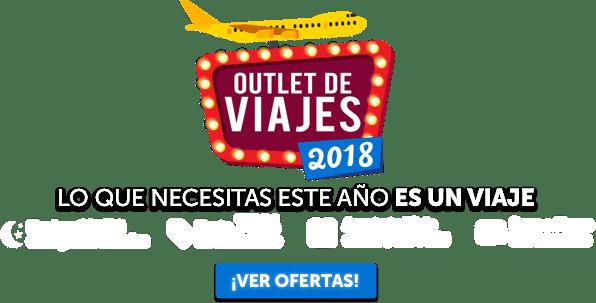Outlet de Viajes 2018 Oferta MD