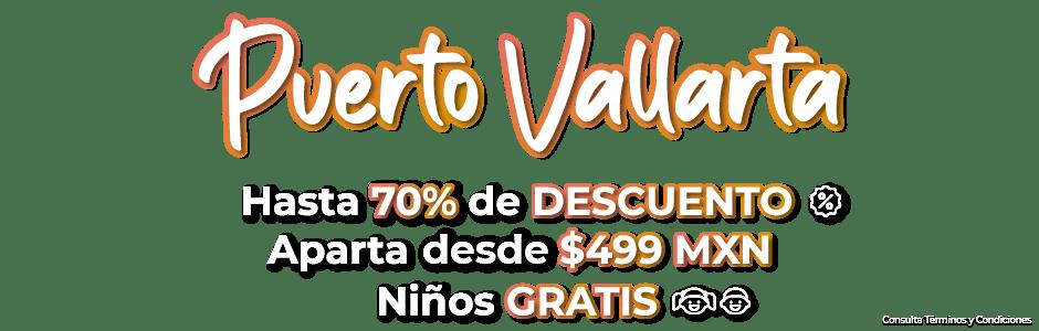 Ofertas de viajes Puerto Vallarta