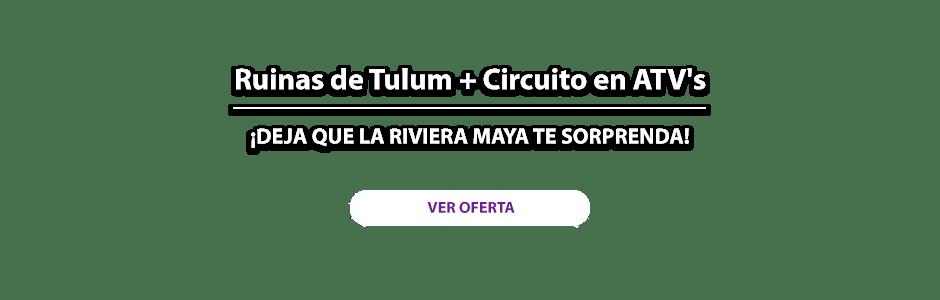 Ruinas de Tulum más Circuito en ATV's Oferta MD