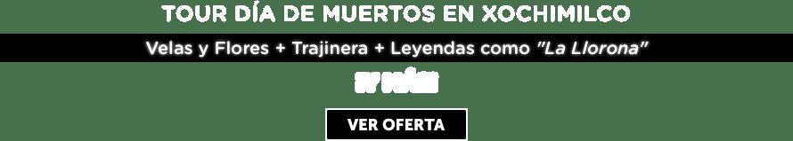 Tour Día de Muertos en Xochimilco Oferta MD