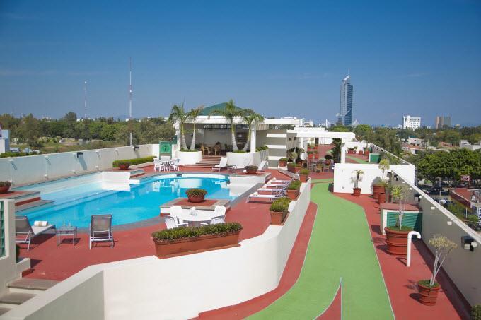 Alberca Hotel Plaza Expo Guadalajara