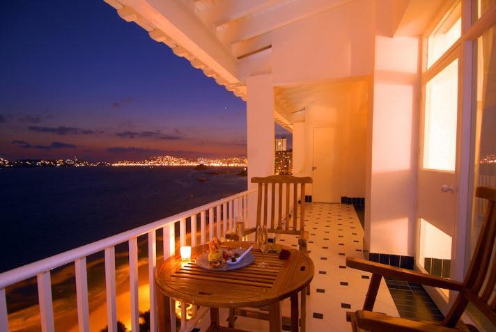 Vista a la Bahía de Acapulco desde el Hotel Elcano