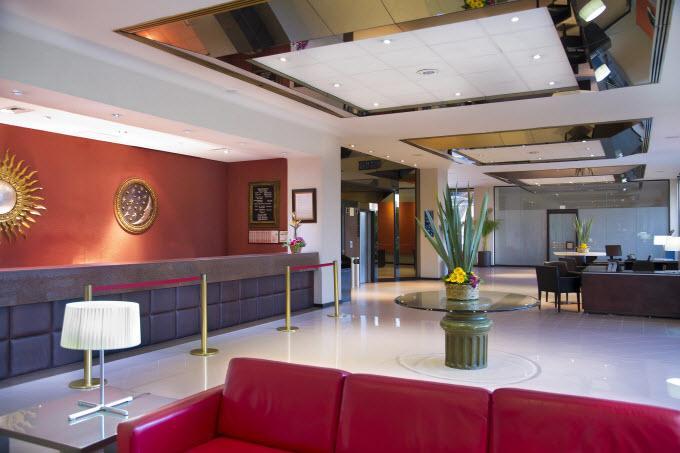 Hotel fresco y sobre todo elegante