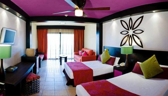 Habitación JR Ocean Coral & Turquesa Riviera Maya