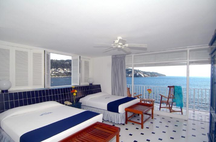 Habitación Jr Suite Hotel Elcano Acapulco