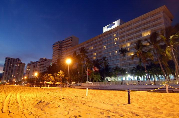 Vista Hotel Elcano Acapulco