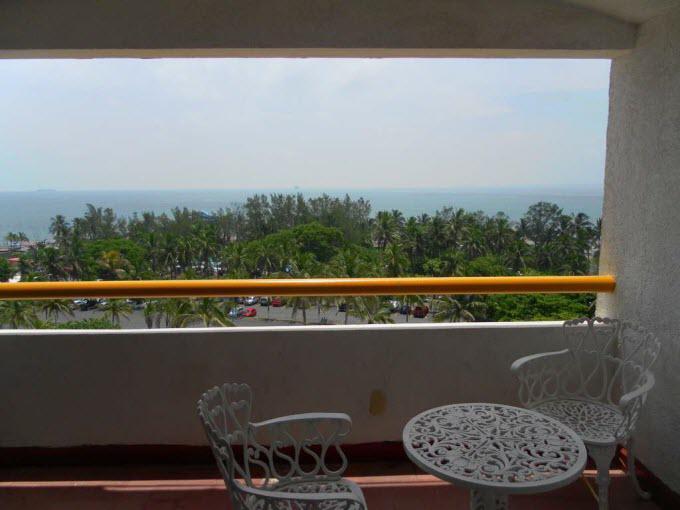 Vista al Mar desde la habitación
