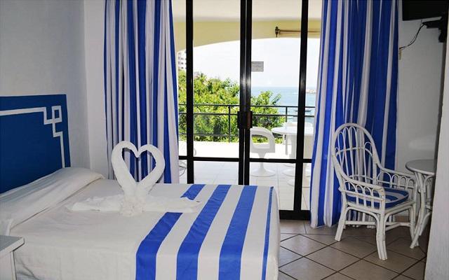 Hotel Acamar Beach, habitaciones con vista al mar