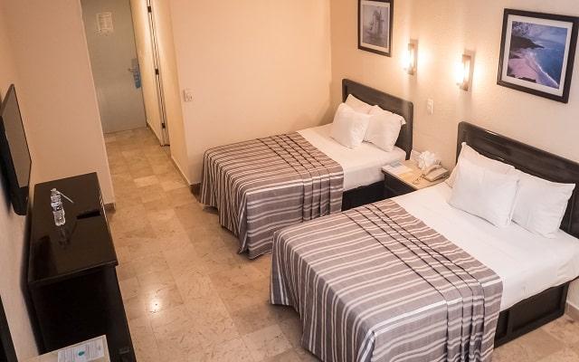 Amarea Hotel Acapulco, amplias y luminosas habitaciones