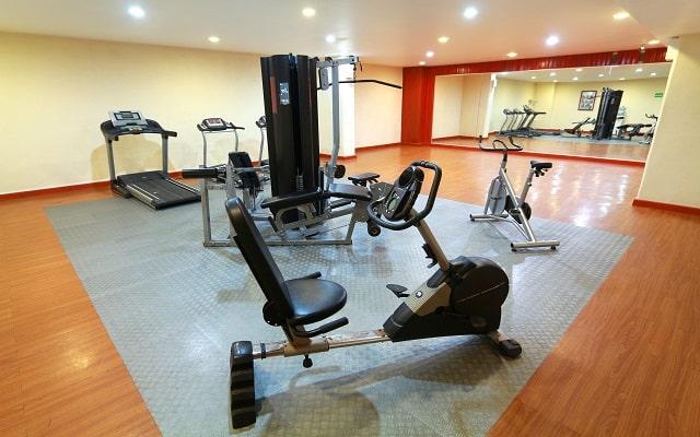 Amarea Hotel Acapulco, gimnasio bien equipado