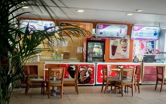 Amarea Hotel Acapulco, heladería