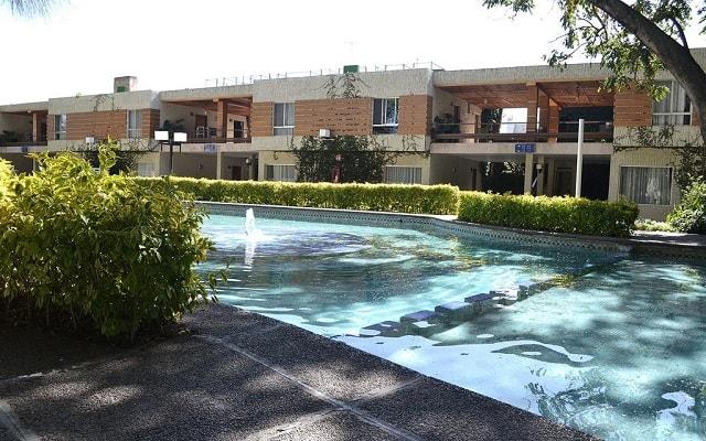 Arbórea Hotel, disfruta de su alberca al aire libre