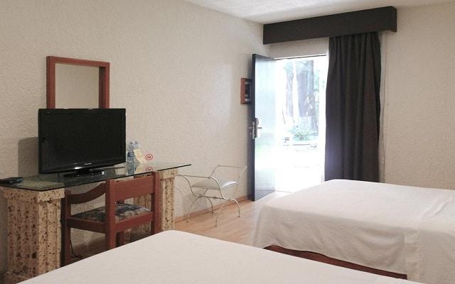 Arbórea Hotel, habitaciones bien equipadas
