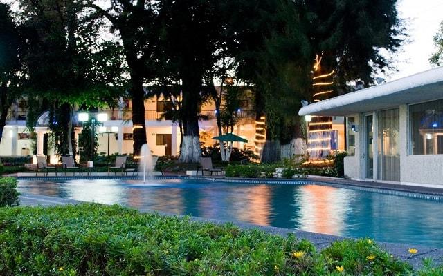 Arbórea Hotel, espacios rodeados de jardines