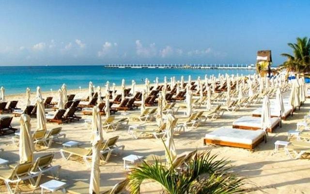 Aspira Hotel & Beach Club, podrás disfrutar de su club de playa