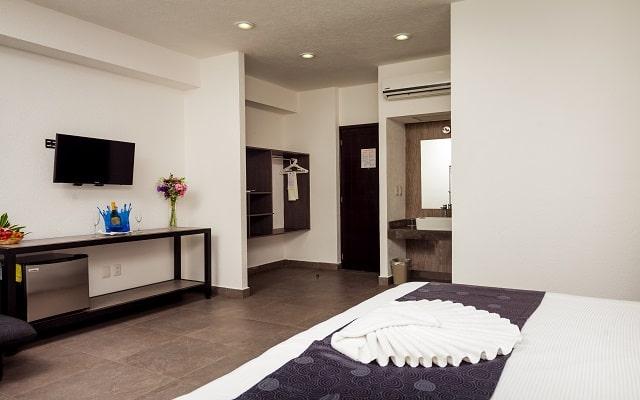 Aspira Hotel & Beach Club, habitaciones bien equipadas