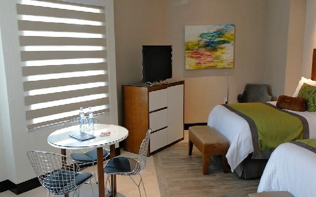 Áurea Hotel and Suites, habitaciones bien equipadas