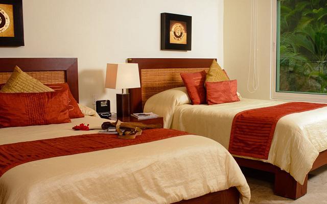 Cuenta con amplias y cómodas habitaciones de lujo