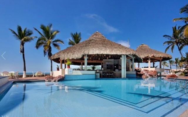 Bar alberca The Palms Resort of Mazatlán