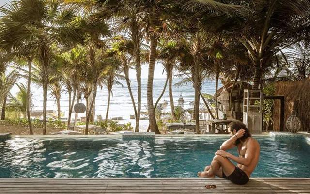 Be Tulum Beach & Spa Resort, disfruta de su alberca al aire libre